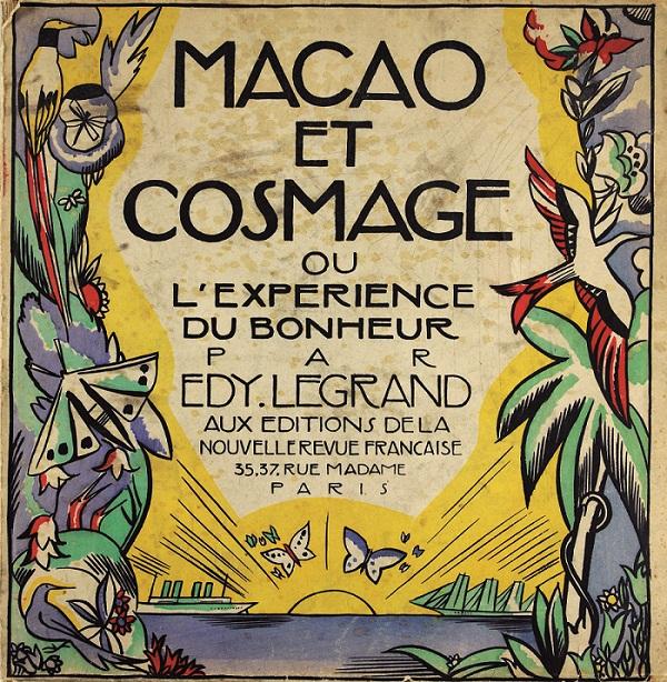 Couverture Macao et cosmage, Edy Legrand